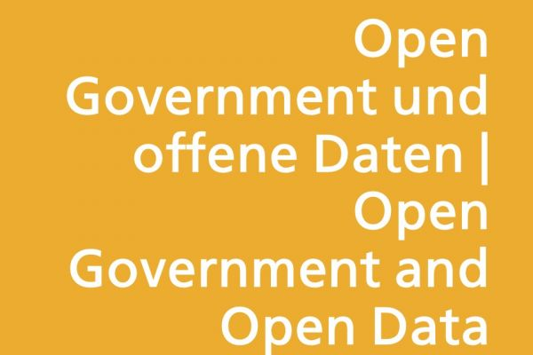 Open Government und offene Daten | Open Government and Open Data